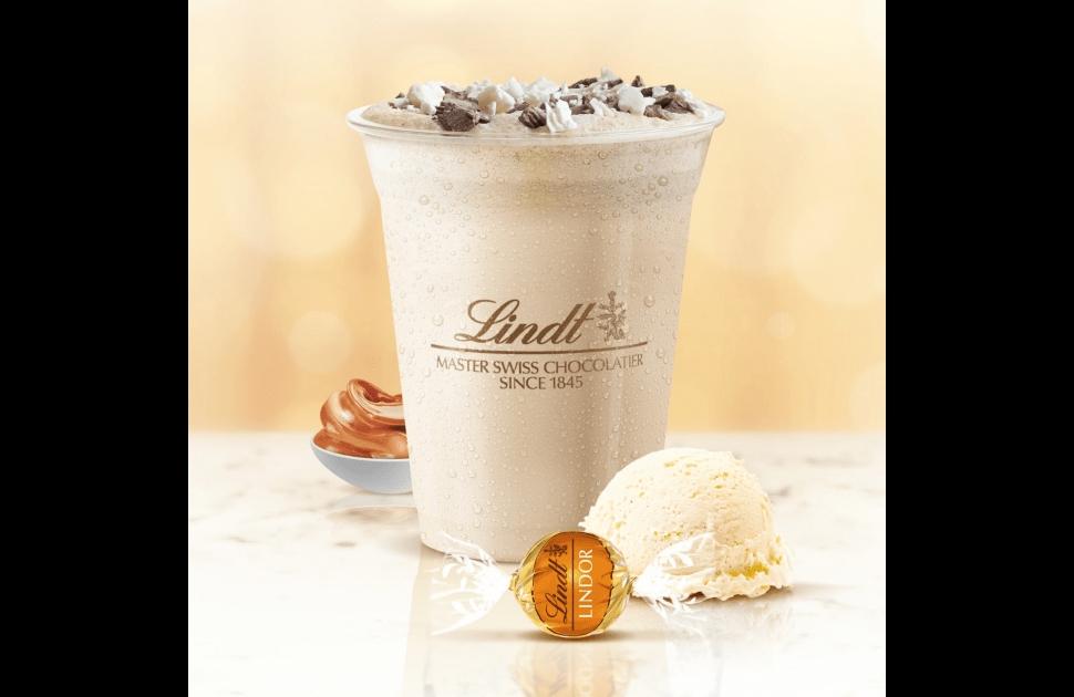 New LINDOR Dulce De Leche Milkshake