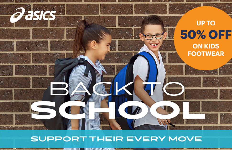Asics: Back to School Offer