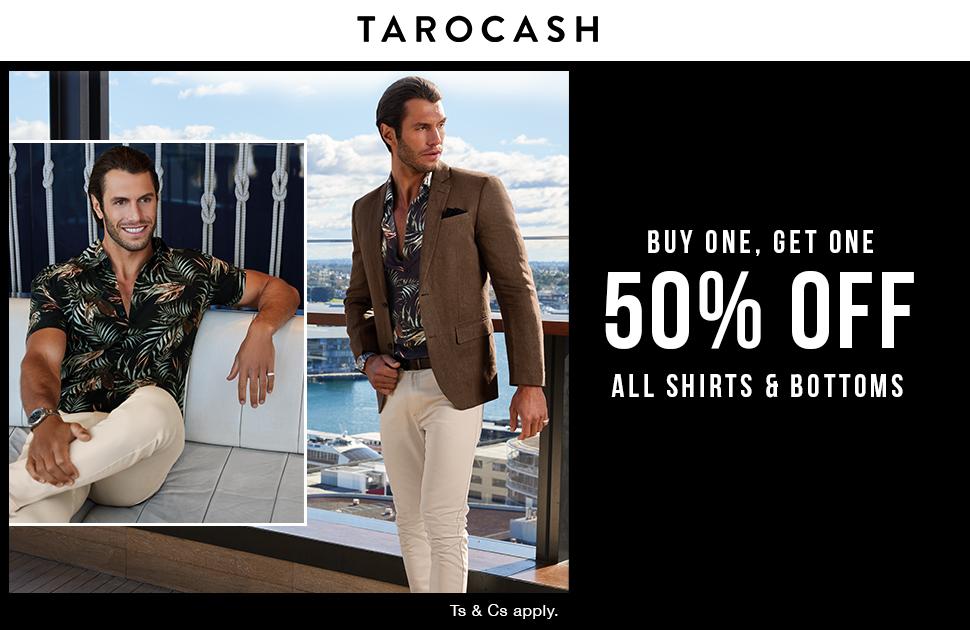 Tarocash Shirts & Bottoms Sale