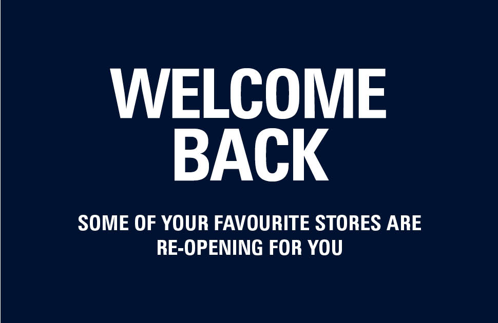 Welcome Back! Store Updates