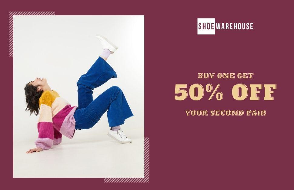 Shoe Warehouse promotion