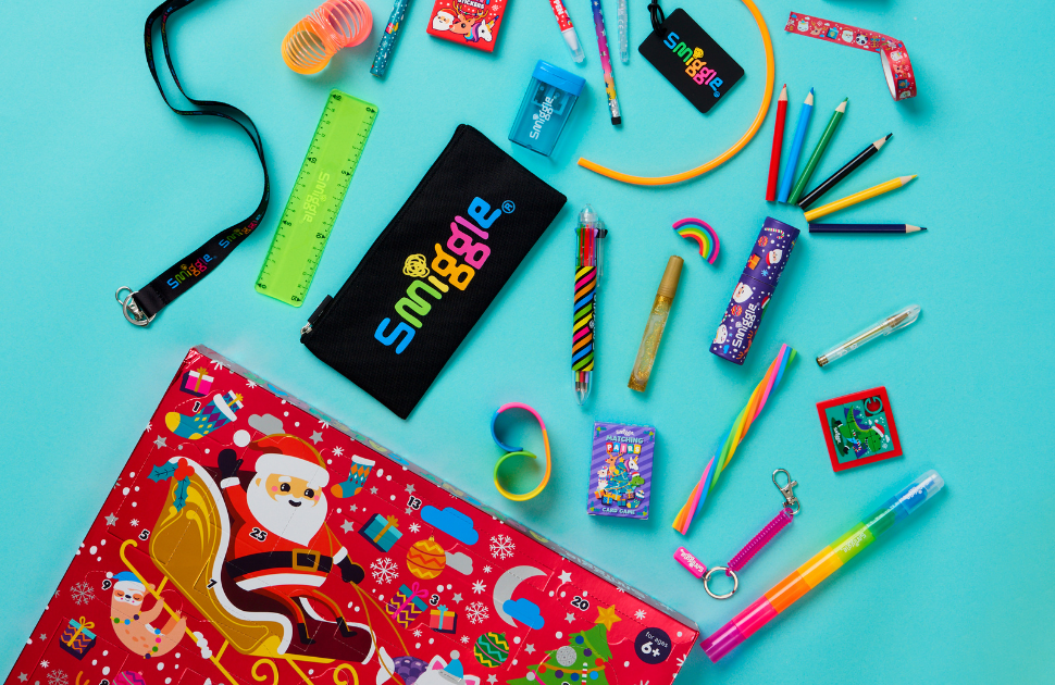 Smiggle's Advent Calendar is back for another year!