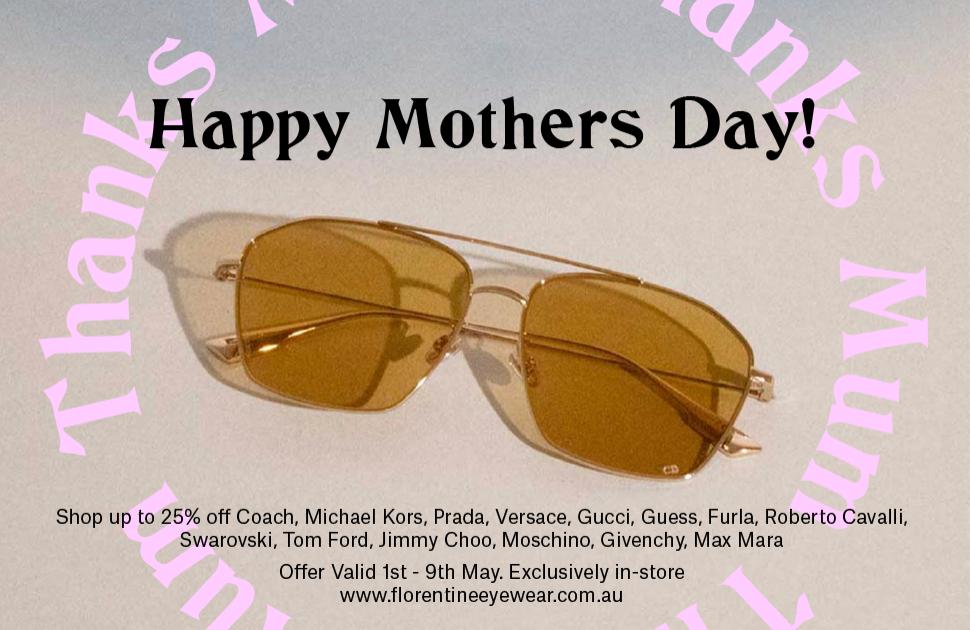 Mother's Day: Florentine Eyewear