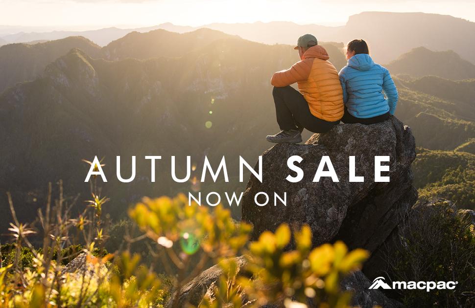 Macpac Autumn Sale