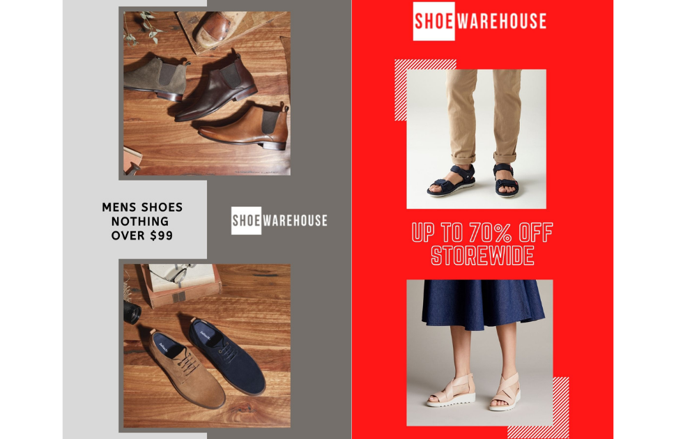 SHOE WAREHOUSE - Boxing Day Sale