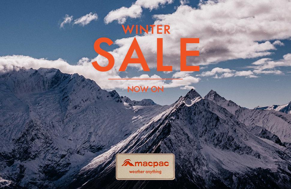 Macpac's Winter Sale