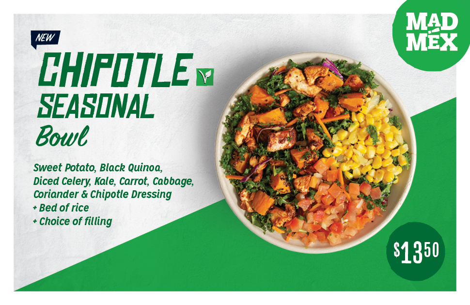Mad Mex's NEW Chipotle Seasonal Bowl