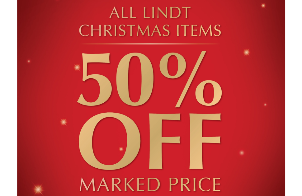 LINDT - Boxing Day Sale