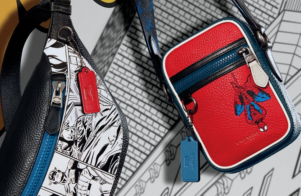 Coach x Marvel Collection