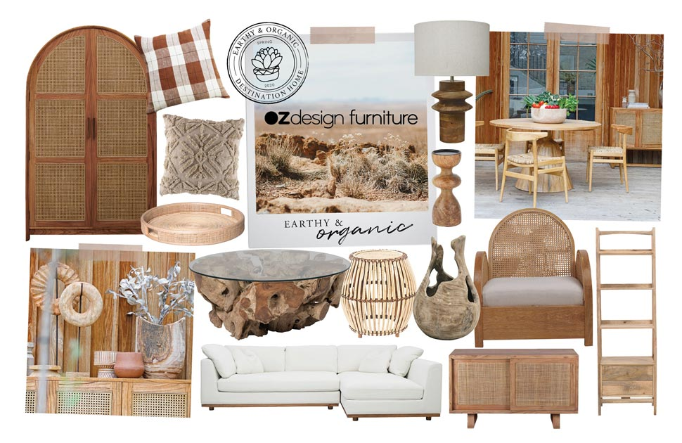 Oz Design Earthy & Organic - Destination Home