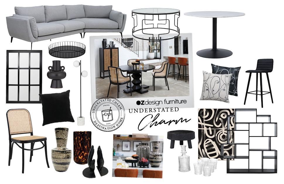 Oz Design Furniture Understated Charm Range