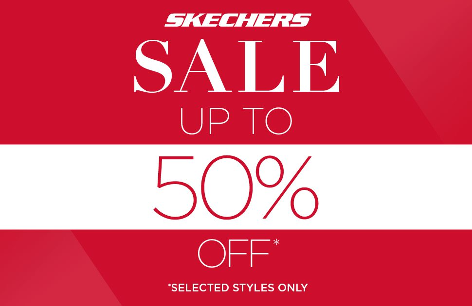 Skechers - Up to 50% Off Selected Styles