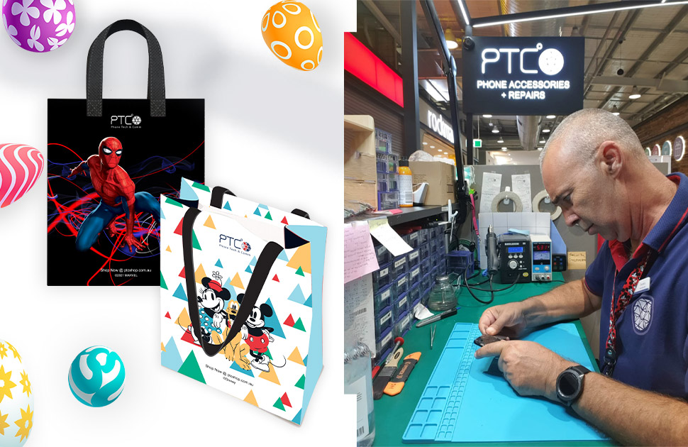 FREE Reusable Disney/Marvel Shopping Bag