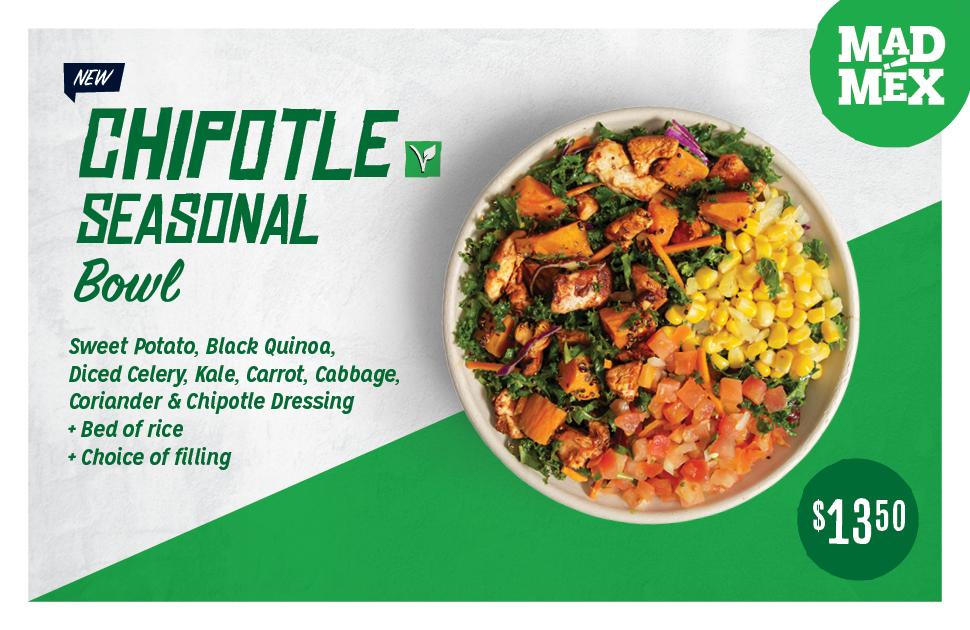 Mad Mex's NEW Chipotle Seasonal Bowl