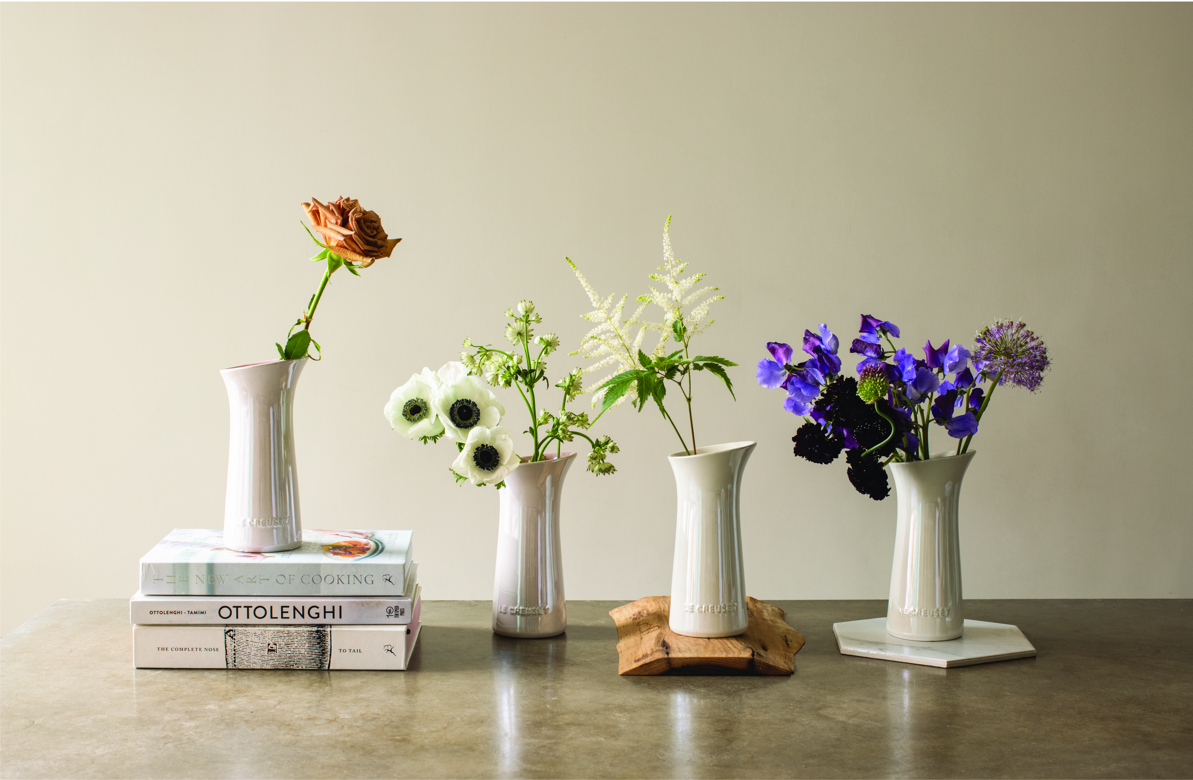 Discover the Flower Collection by Le Creuset