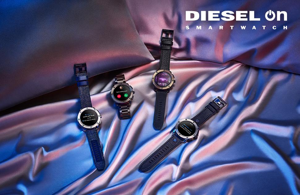 Get Dad a Diesel Axial Smartwatch