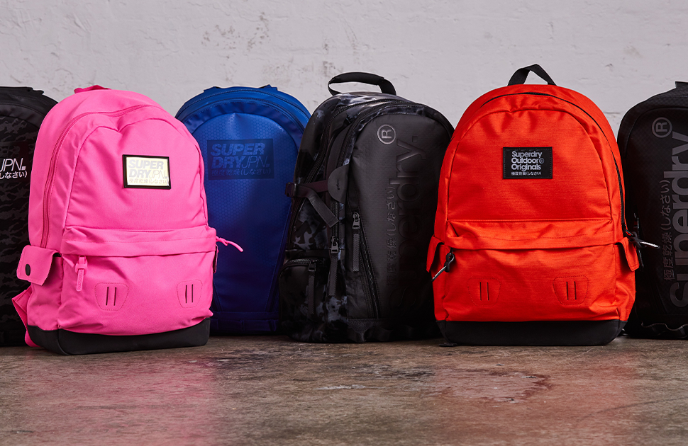 SUPERDRY: GET A BACKPACK FOR $50 WHEN YOU SPEND $100