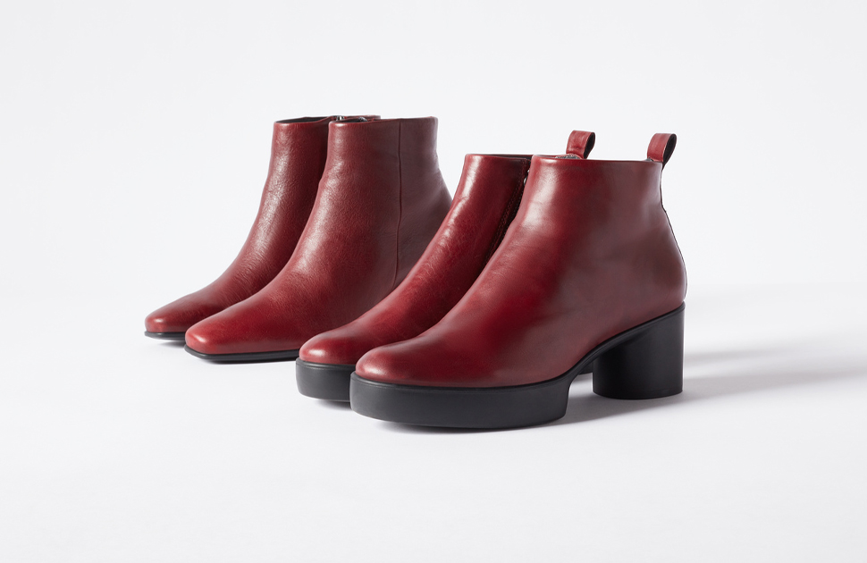 The new ECCO Shape boot