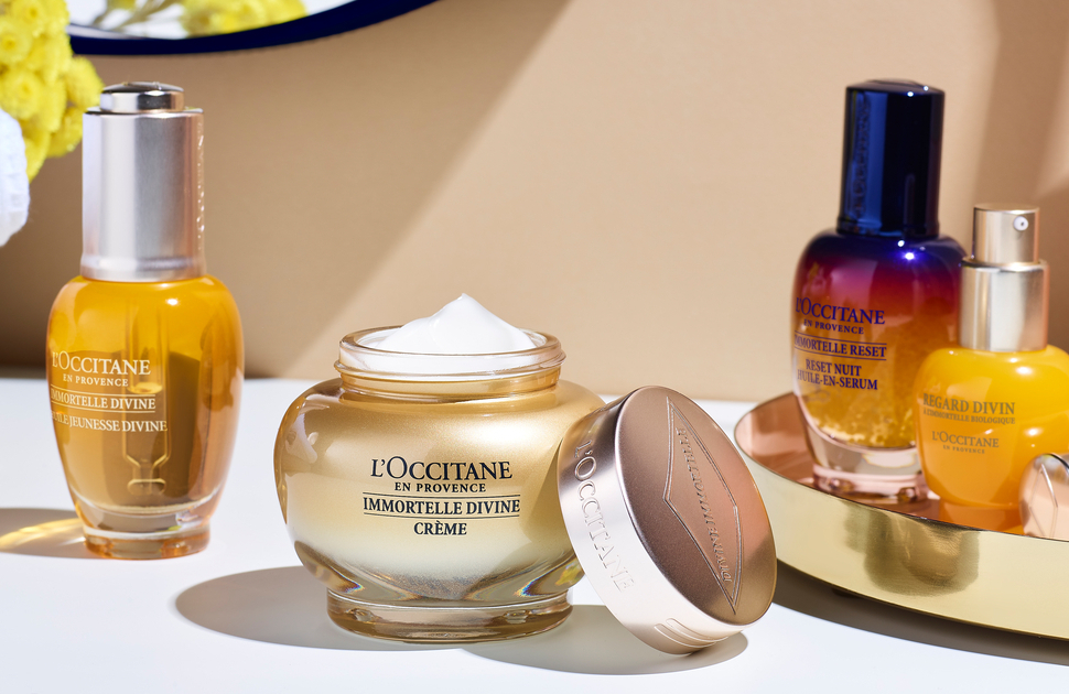 Celebrate 10 years of Divine with L'OCCITANE!