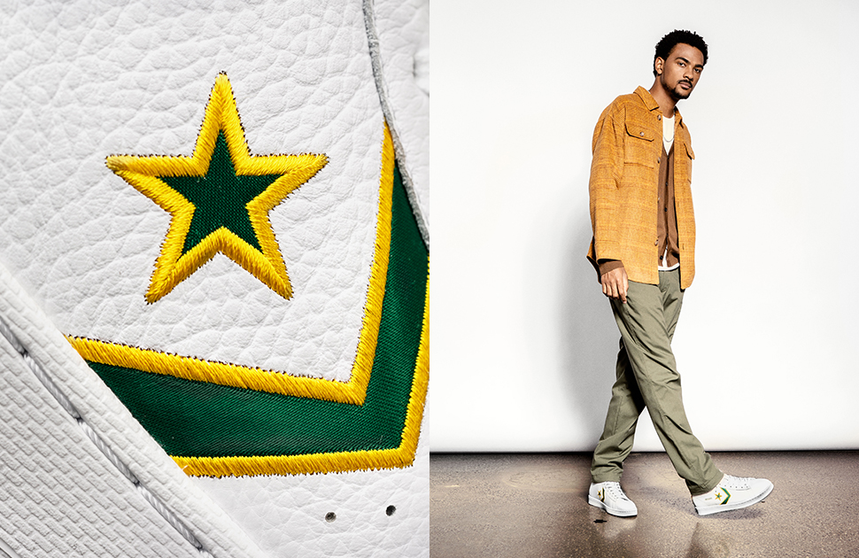 CONVERSE x HARDWOOD CLASSICS BREAKING DOWN BARRIERS
