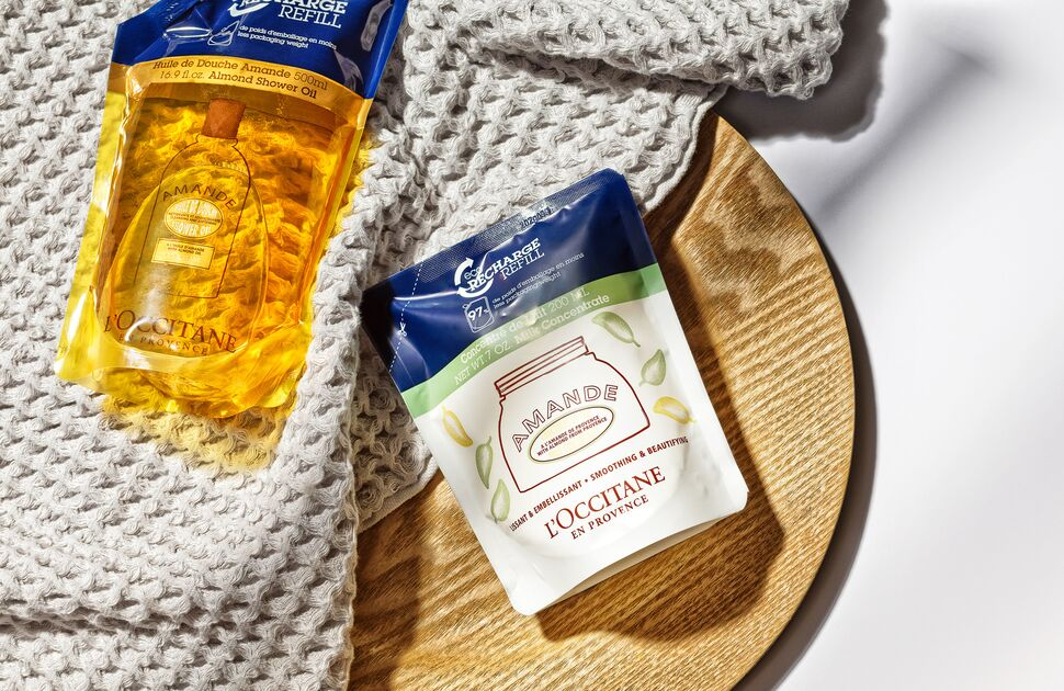 Refill, recycle and make the world better with L'OCCITANE