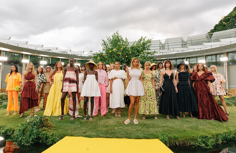 Aje Resort 22 'Scent Of Summer' Runway Show