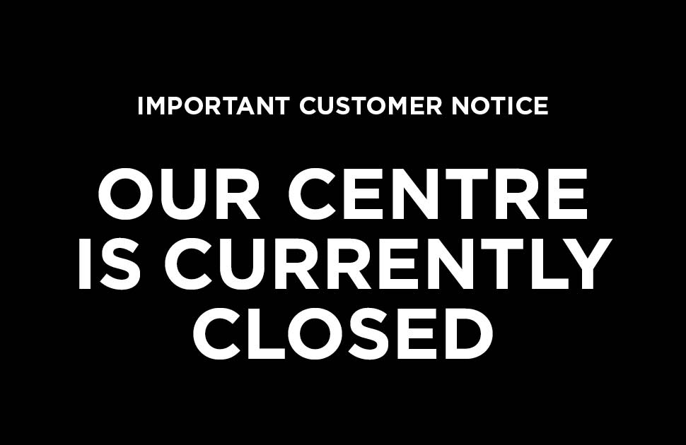 Unfortunately, we are temporarily closed.