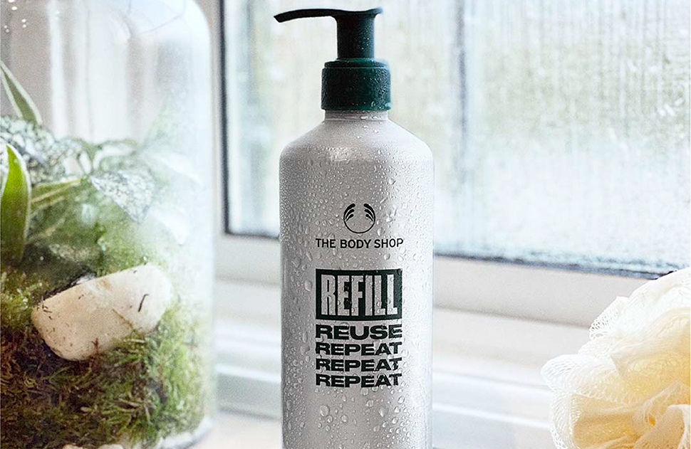 The Body Shop New Refill Station
