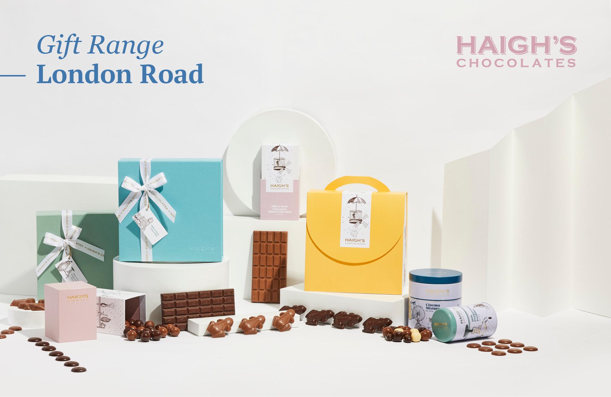 Haigh's Chocolates: New Gift Range - London Road