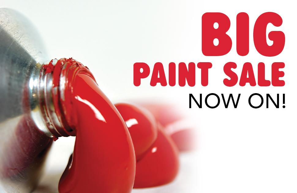 Eckersley's Art & Craft: Big Paint Sale