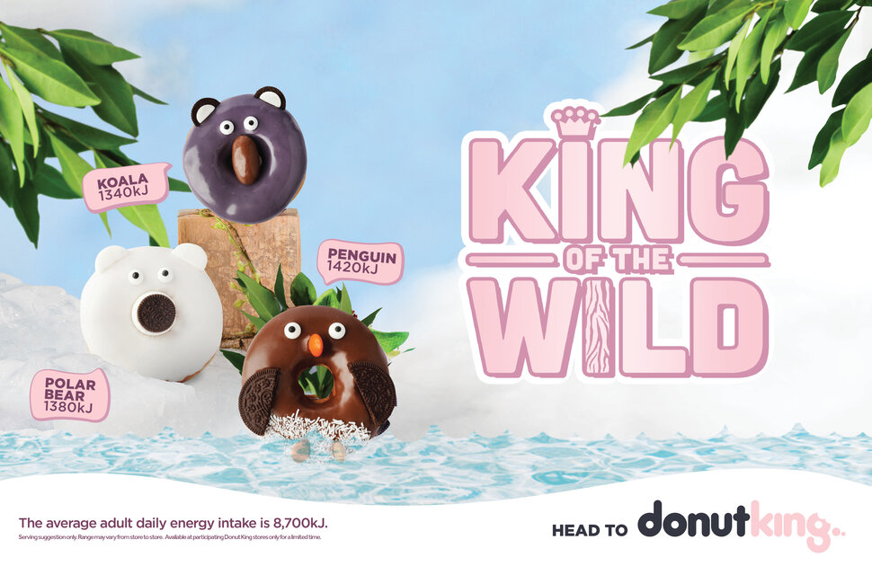 Introducing King of the Wild Donuts