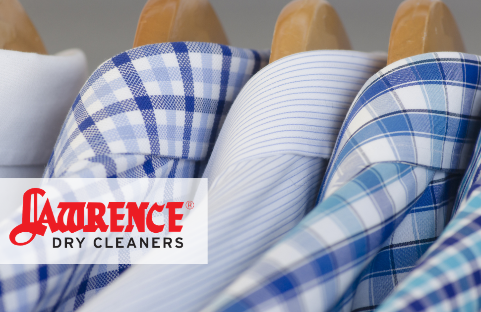 Lawrence Dry Cleaners: 5 Shirts for $9.90