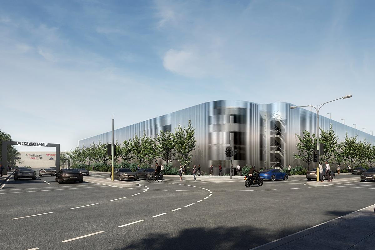 Parking Expansion l David Jones Car Park