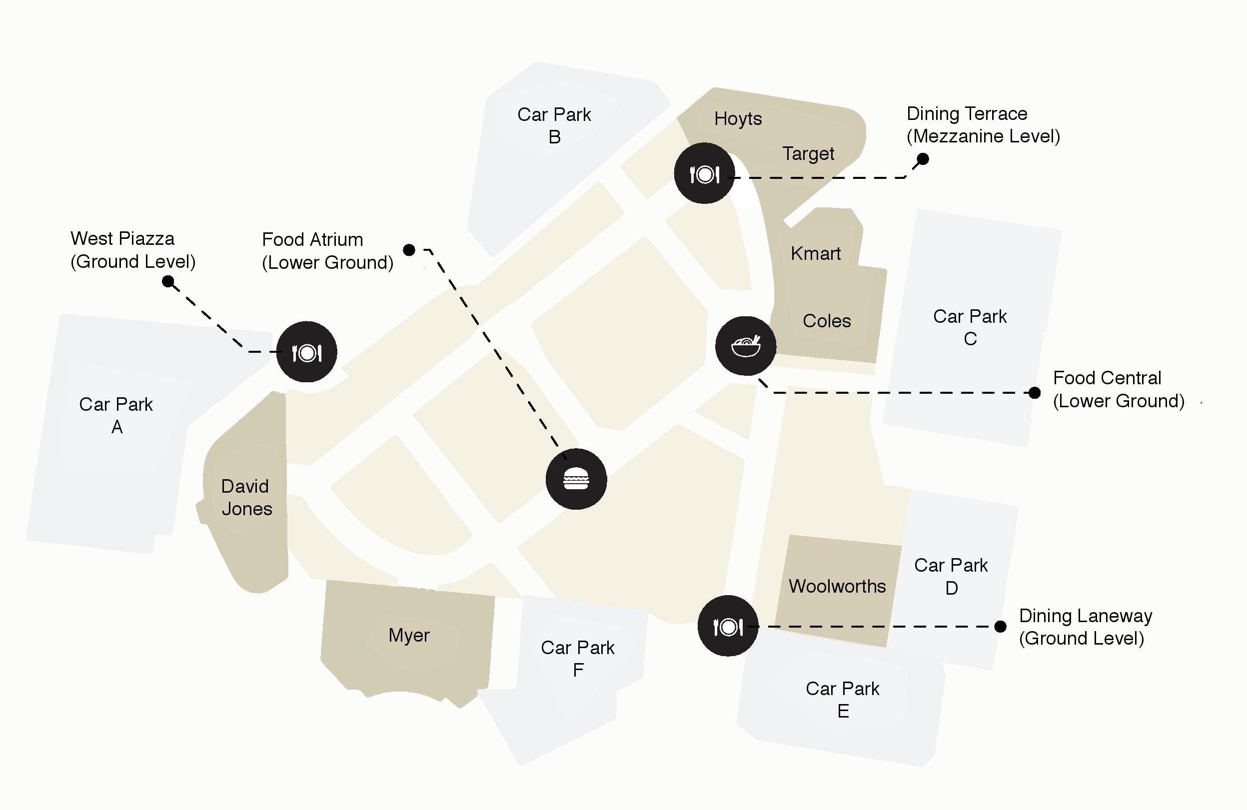Dining Precinct Map