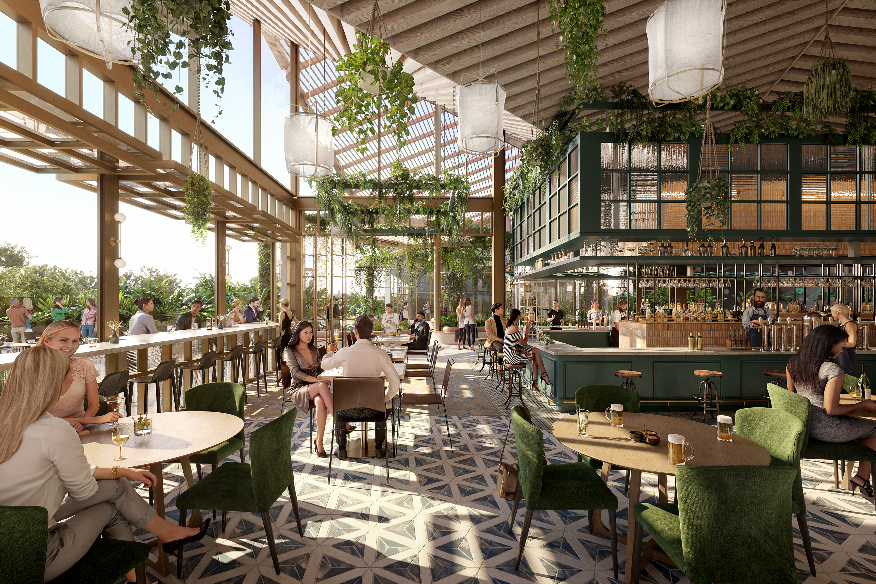 Expansion of Leisure and Dining Precinct