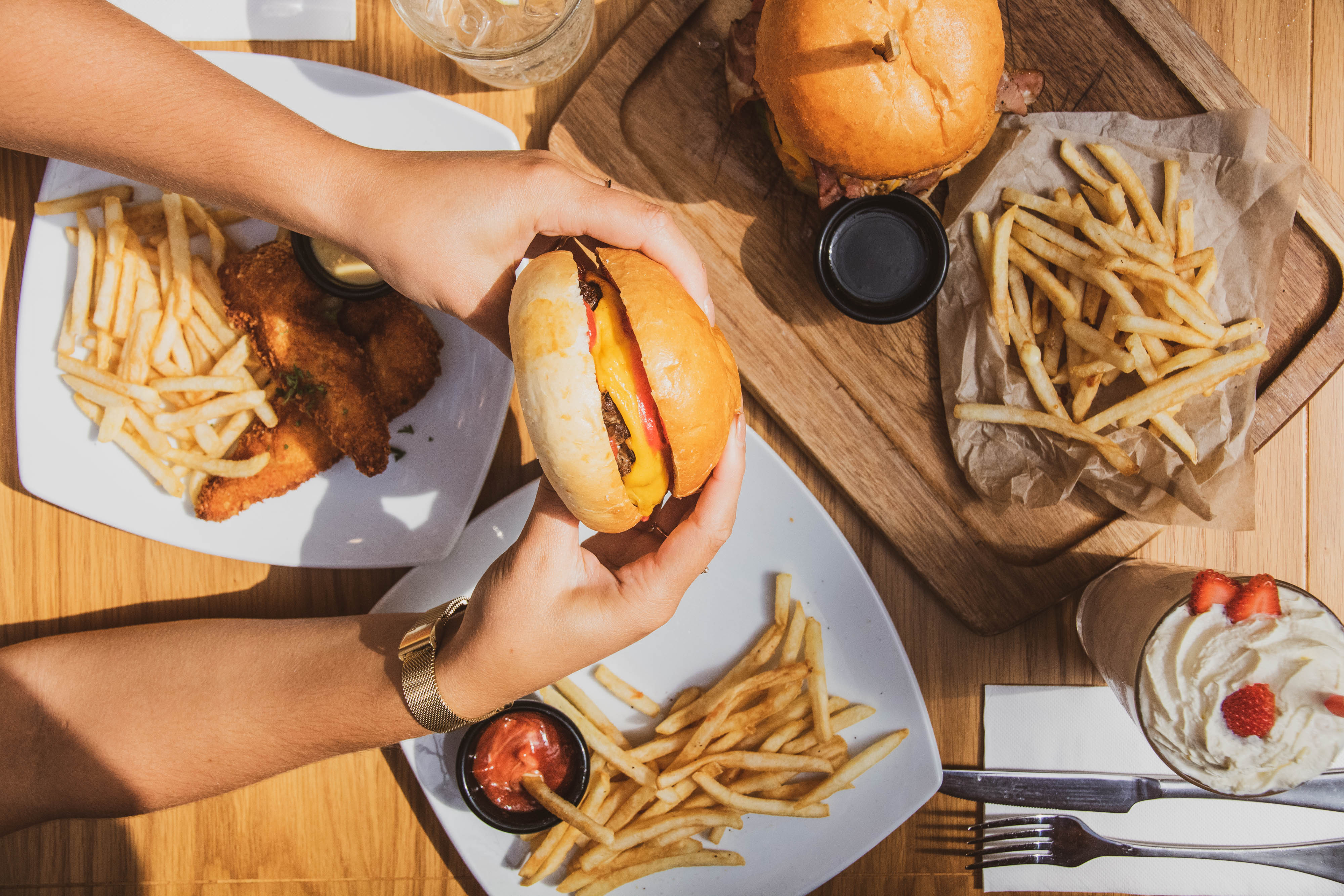 Dining - burger