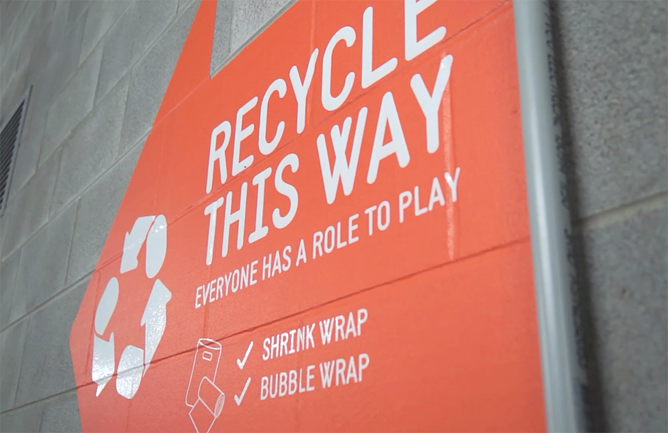 Learn about our centre's recycling program