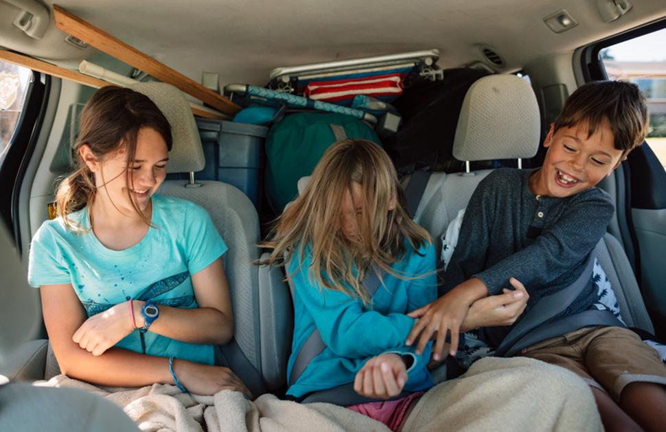 Genius Ways to Keep Kids Happy on Road Trips
