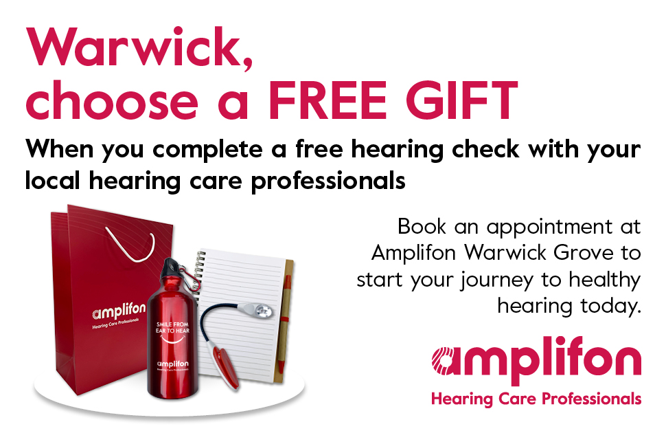 Amplifon - Free Gift with Hearing Check