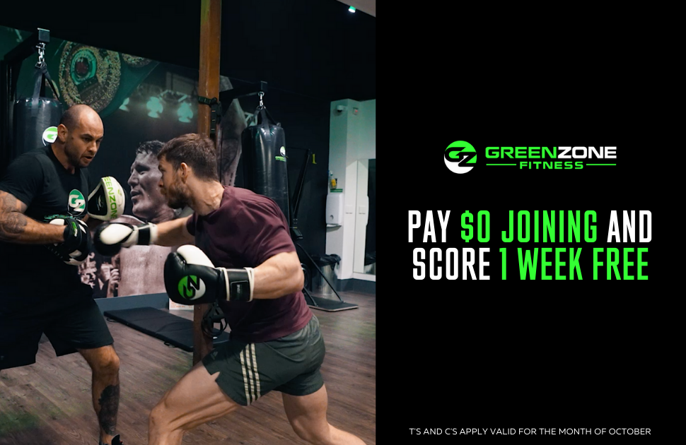 Green Zone Fitness $0 Joining Fee