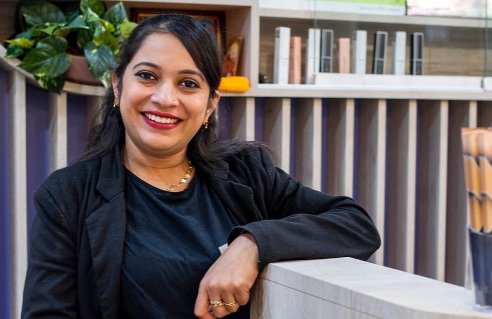 Meet Kajal, proud team member of Savoy Beauty