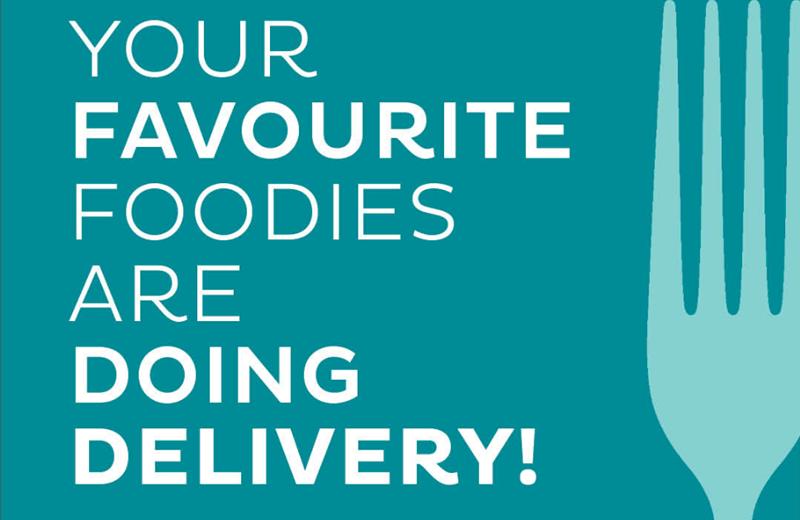 Get Food to Your Door!