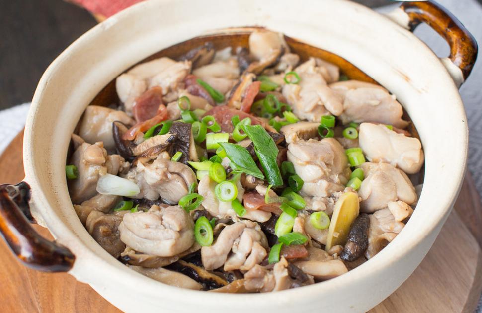 Claypot Chicken & Rice