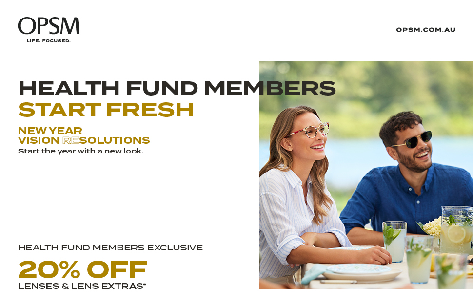 OPSM's Health Fund Member Exclusive