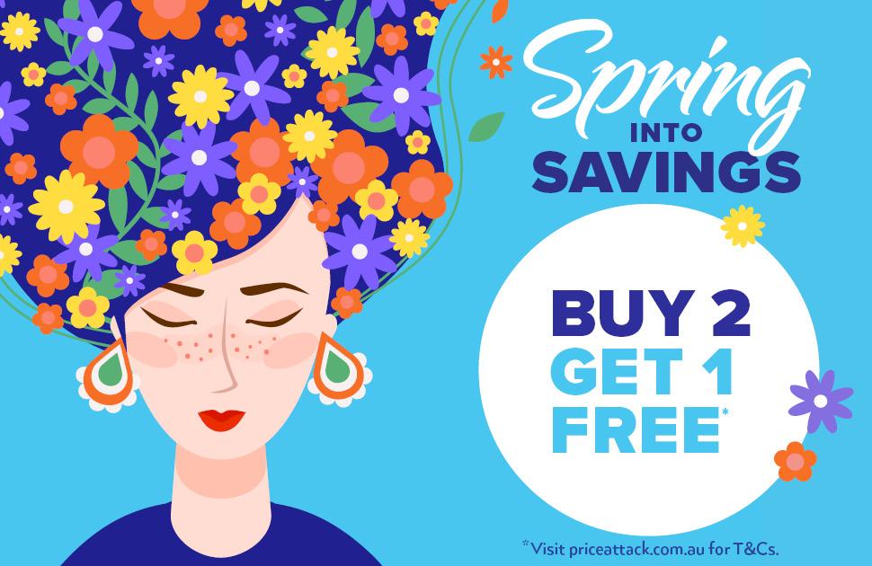 Price Attack's Spring Sale