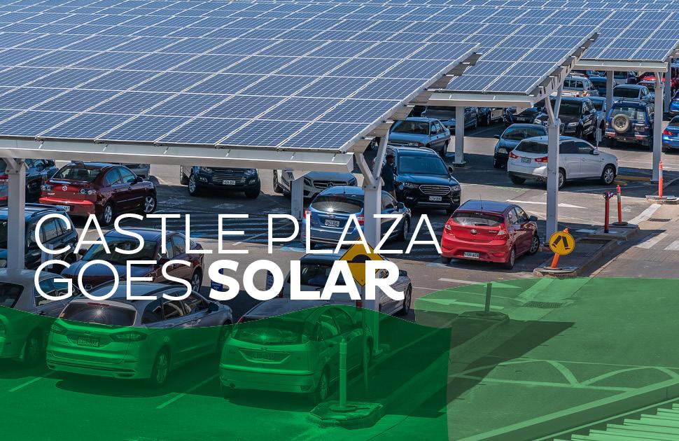 Solar Parking Now Complete