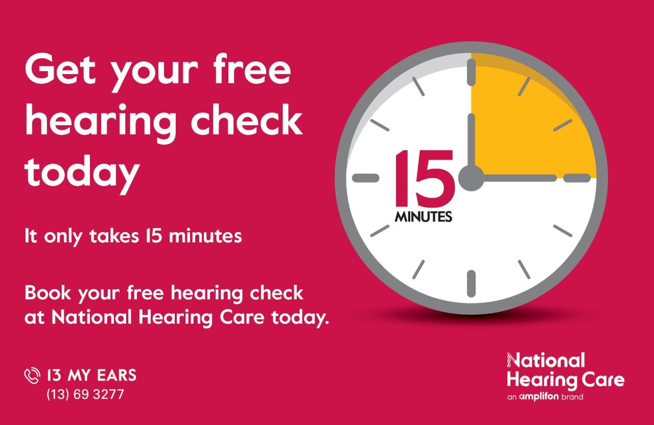 FREE Hearing Check at NHC