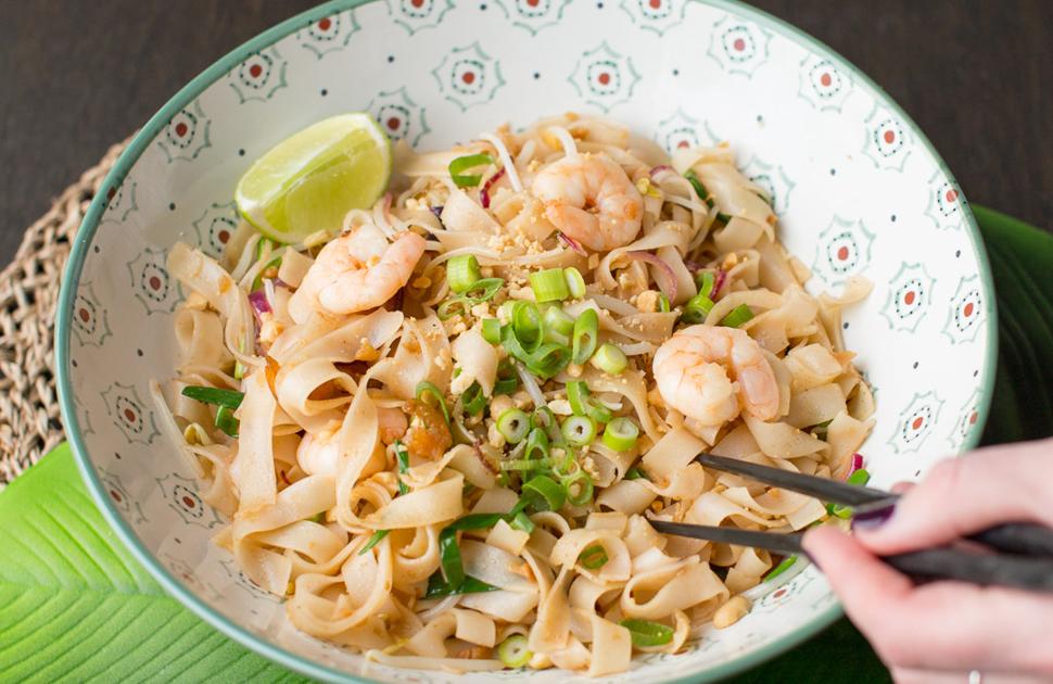 Seafood Pad Thai