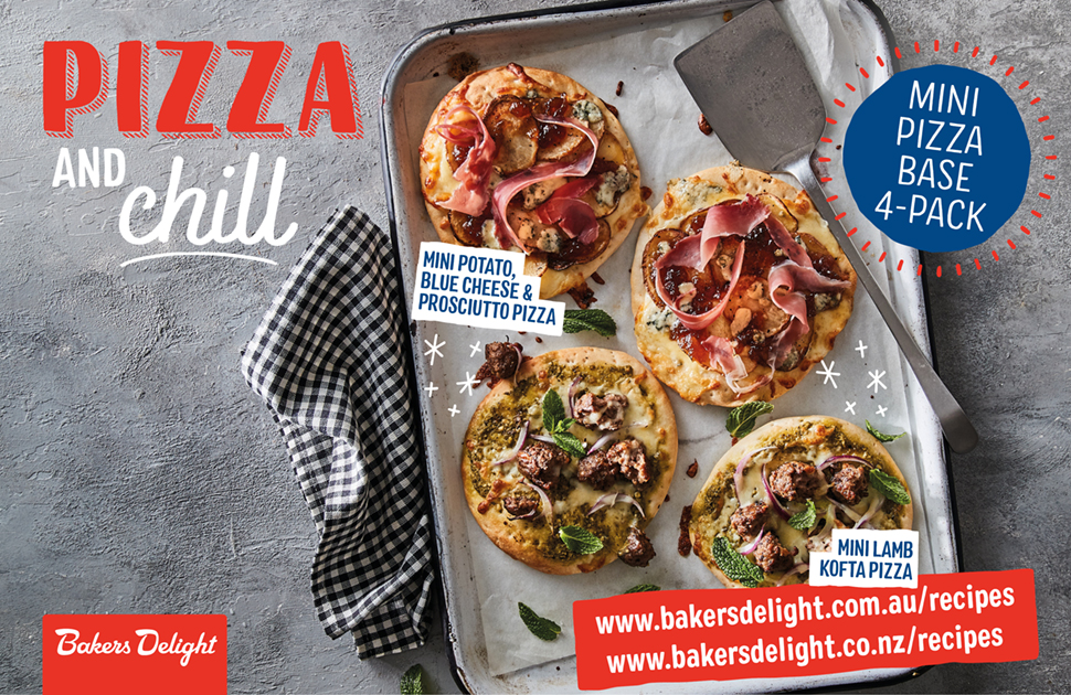 Pizza any way you like it!