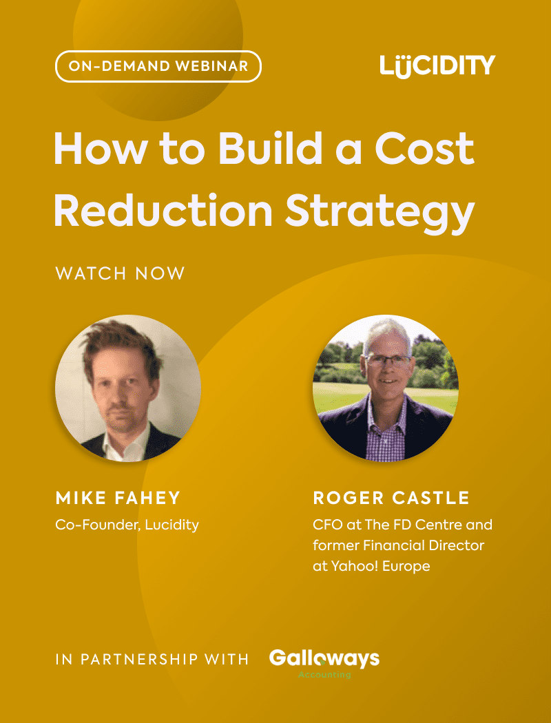How to Build a Cost Reduction Strategy